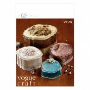 Vogue Craft Sewing Pattern 9165 Decorative Boxes