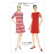 Vogue Ladies Easy Sewing Pattern 9183 Paneled Dresses