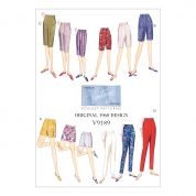 Vogue Ladies Easy Sewing Pattern 9189 Shorts & Tapered Pants