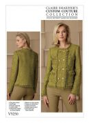 Vogue Ladies Sewing Pattern 9250 Lined Jacket with Princess Seams