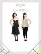 Victory Patterns Ladies Sewing Pattern Ava Dress & Blouse