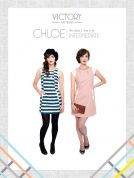 Victory Patterns Ladies Sewing Pattern Chloe Dress