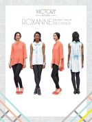 Victory Patterns Ladies Easy Sewing Pattern Roxanne Blouse Top