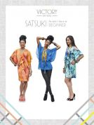 Victory Patterns Ladies Easy Sewing Pattern Satsuki Dress & Blouse
