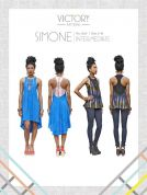 Victory Patterns Ladies Sewing Pattern Simone Dress & Tank Top