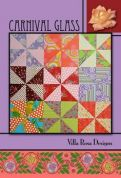 Villa Rosa Carnival Glass Quilt Postcard Quilting Pattern