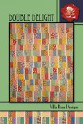 Villa Rosa Double Delight Quilt Postcard Quilting Pattern