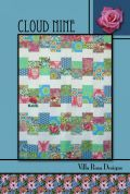Villa Rosa Cloud Nine Quilt Postcard Quilting Pattern