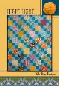 Villa Rosa Night Light Quilt Postcard Quilting Pattern