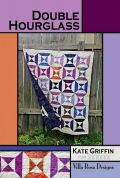 Villa Rosa Double Hourglass Quilt Postcard Quilting Pattern