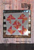Villa Rosa Lily Quilt Postcard Quilting Pattern