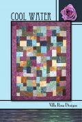 Villa Rosa Cool Water Quilt Postcard Quilting Pattern