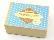Whitecroft Vintage Style Sewing Kit Including Haberdashery & Scissors
