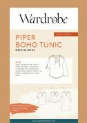 Wardrobe By Me Sewing Pattern Piper Tunic
