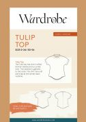 Wardrobe By Me Sewing Pattern Tulip Top