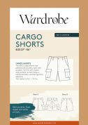 Wardrobe By Me Sewing Pattern Cargo Shorts