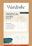 Wardrobe By Me Sewing Pattern Tropical Shirt