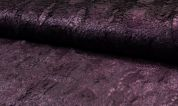 Textured Fur Fabric  Purple