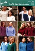 Wendy Ladies Double Knitting Classics 295 Knitting Pattern Book  DK