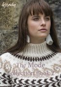 Wendy The Mode Collection Book 2 332 Knitting Pattern Book  DK, Aran, Chunky