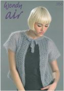 Wendy The Air Collection 356 Knitting Pattern Book  4 Ply
