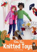 Peter Pan Knitted Toys 374 Knitting Pattern Book  DK