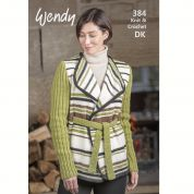 Wendy Knitting & Crochet Pattern Book 384