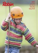 Robin Childrens Sweaters Phoenix Knitting Pattern 3007  Chunky