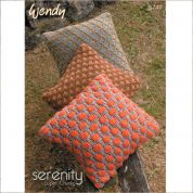 Wendy Home Cushions Serenity Knitting Pattern 5749  Super Chunky