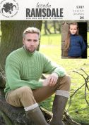 Wendy Family Sweater Ramsdale Knitting Pattern 5787  DK