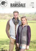 Wendy Mens & Ladies Cardigans Ramsdale Knitting Pattern 5792  DK