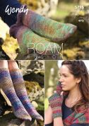 Wendy Ladies Socks & Wrist Warmers Roam Knitting Pattern 5795  4 Ply