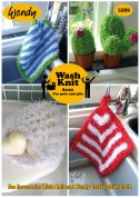 Wendy Home Dishcloths & Accessories Wash Knit Knitting Pattern 5999  Aran