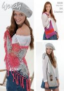 Wendy Ladies Shawl, Beret & Bags Supreme Crochet Pattern 6030  DK