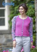 Wendy Ladies Cardigans Love It Knitting Pattern 6037  DK