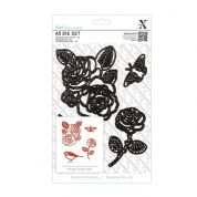 DoCrafts XCut A5 Die Set Rose