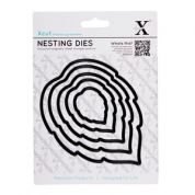 DoCrafts XCut Nesting Dies Leaves