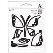 DoCrafts XCut Dies Decorative Butterfly