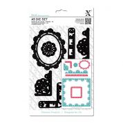DoCrafts XCut A5 Die Set Trim Borders