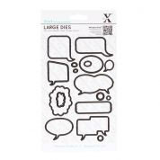 DoCrafts XCut Dies Speech Bubbles