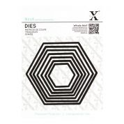 DoCrafts XCut Nesting Dies Set Hexagons
