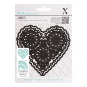 DoCrafts XCut Vintage Style Dies Filigree Heart