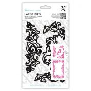 DoCrafts XCut Large Dies Leafy Flourishes