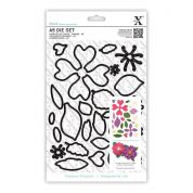 DoCrafts XCut A5 Die Set Flowers