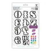 DoCrafts XCut A5 Die Set Carnival Numbers