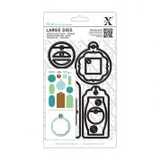 DoCrafts XCut Large Dies Gift Tag Set