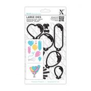 DoCrafts XCut Large Dies Balloons