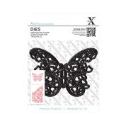 DoCrafts XCut Dies Floral Filigree Butterfly