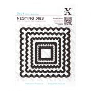 DoCrafts XCut Nesting Dies Scalloped Squares