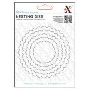 DoCrafts XCut Nesting Dies Scalloped Circles